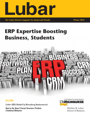 ERP Expertise Boosting Business Students