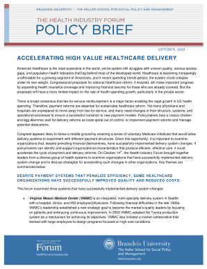 Policy Brief Template Microsoft Word - Fill Online, Printable ...