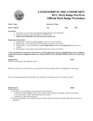 Printables Citizenship In The Community Worksheet citizenship on the community byu worksheet form fill online worksheet