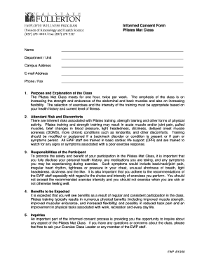 1filling of mat consent form online