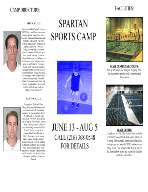 Spartan sports camp - the daily - Case Western Reserve University