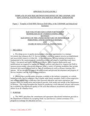 Draft Template of Memorandum of Understanding - Office of General ...