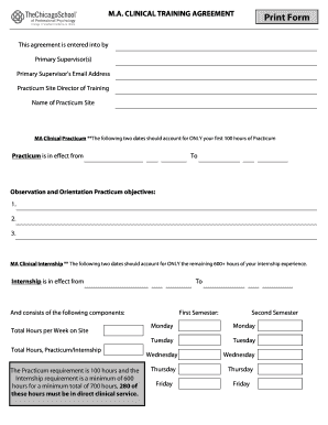 Fillable Online ego thechicagoschool Print Form - The
