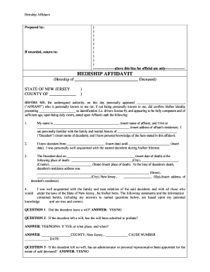 19 Printable Affidavit Format For Ownership Of Land Templates Fillable Samples In Pdf Word To