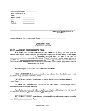 quick claim deed form for washington state  11 Printable quit claim deed form washington state Templates ...