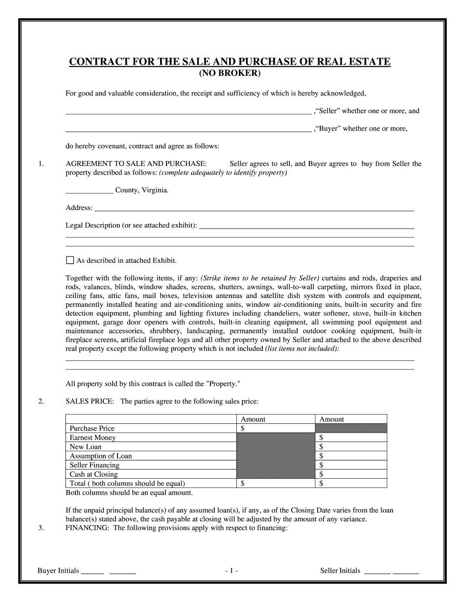 real estate purchase agreement addendum