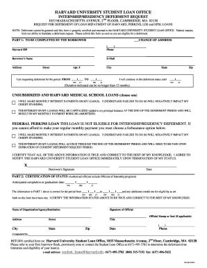 Internship Residency Deferment Request Form.pdf   ISites   Harvard   Isites  Harvard