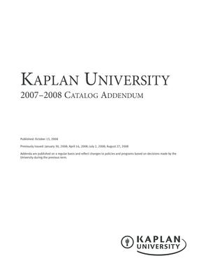 kaplan university ku campus Fillable Online kucampus kaplan Kaplan University KU Campus ...