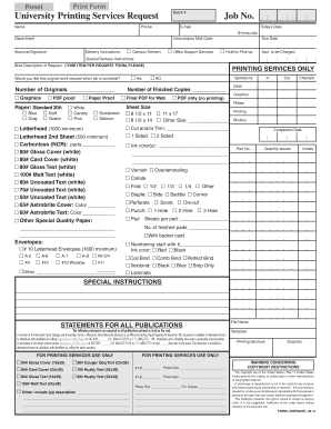 Standard Work Order Form - Minnesota State University, Mankato - mnsu