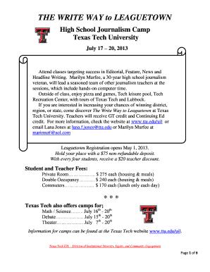 Texas Tech Online High School >> Leaguetown High School In South Texas Fill Online