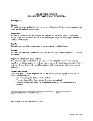 oral presentation example fill online printable fillable oral presentation example