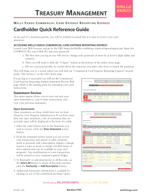 wells fargo ach quick reference guide editable fillable rh creditcardpaymentauthorizationtemplate com Quick Reference Guide Clip Art Quick Reference Guide Template