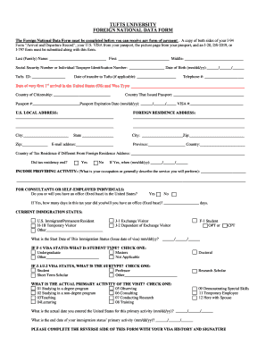 18 Printable i 94 form sample Templates - Fillable Samples in PDF