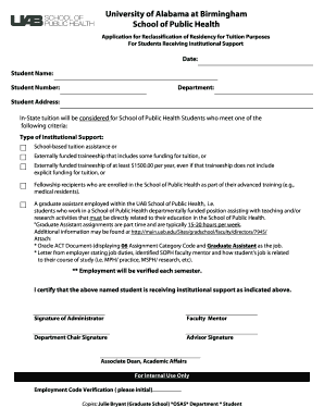 justification letter for position reclassification - Fill
