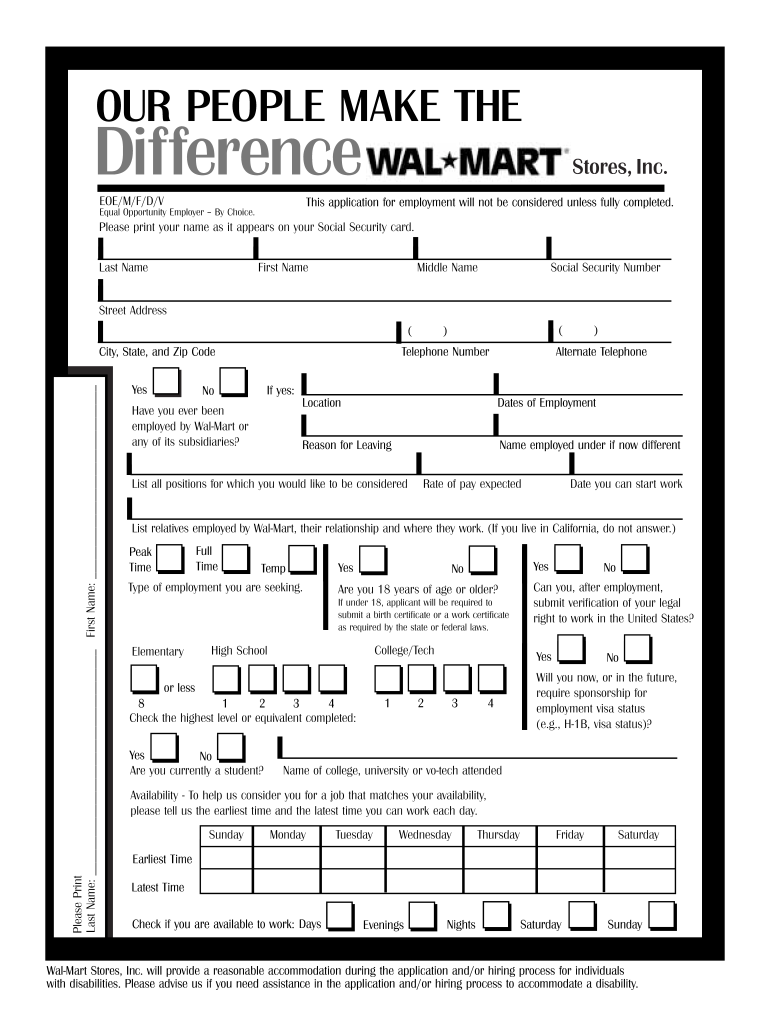 photo about Walmart Printable Applications identify Walmart Com Put into practice On-line - Fill On the web, Printable, Fillable