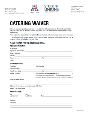 17 Printable catering contract for an event Forms and ...