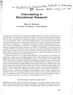 Interview Guide Template Qualitative Research Fill Out Online
