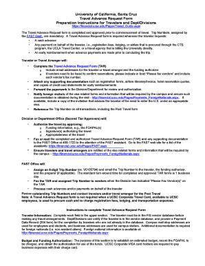 Fillable Online financial ucsc University of California, Santa ...