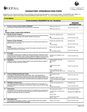 immunization card pdf Forms and Templates - Fillable & Printable ...