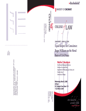View Brochure - University of Cincinnati College of Law - law uc