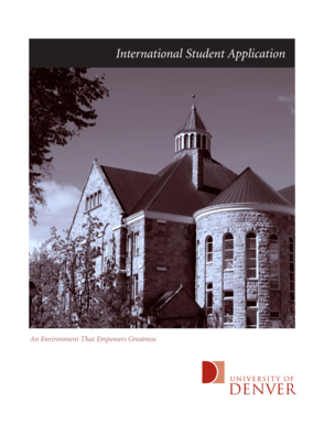 International Student Application - Sturm College of Law - University ...