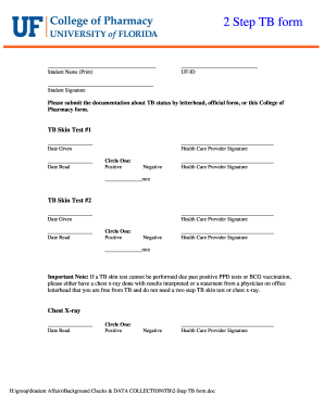 Ppd Tb Test Paperwork - Fill Online, Printable, Fillable, Blank ...