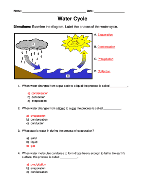 Examining the hydrologic cycle answer key fill online printable examining the hydrologic cycle answer key ccuart Image collections