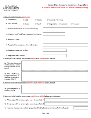 account maintenance request form