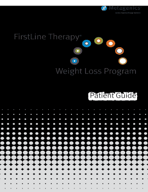 Healthy Transformation Weigh Loss Program Patient - Metagenics