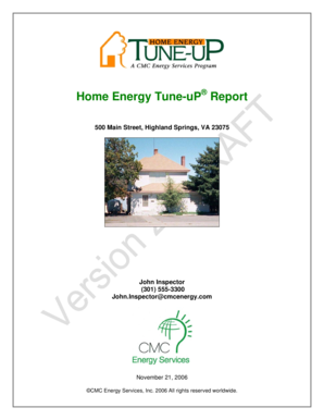 See a Sample Energy Audit Report - Houston Home Inspectors