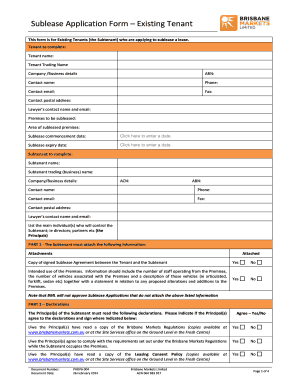 Printable commercial sublease agreement qld - Edit, Fill Out