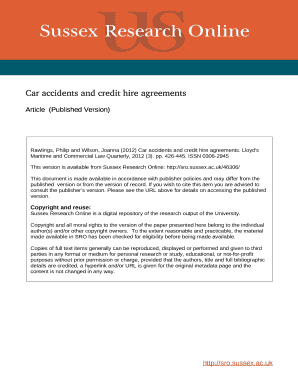 printable car accident agreement letter between two parties edit