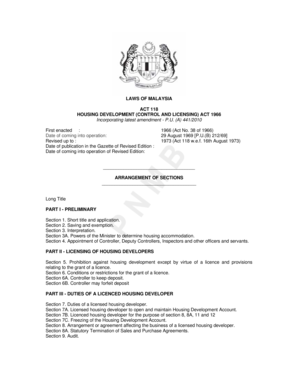 housing development act 1966 in malaysia The housing development (control and licensing) act 1966 was in the housing development act 1966 is not from the west malaysia set of federal housing and.