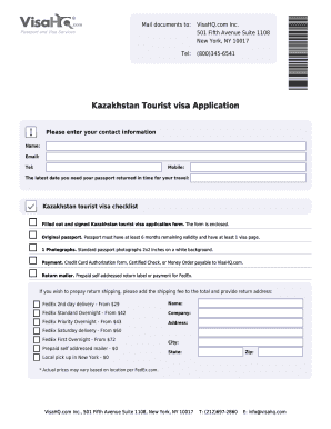 Tourist visa invitation letter to download in word pdf editable tourist visa invitation letter kazakhstan tourist visa application stopboris Image collections