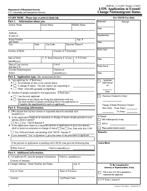 You should use this form if you are one of the nonimmigrantslisted below and wish to apply to the U