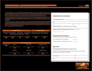 cal osha form 300a Templates - Fillable & Printable Samples for ...