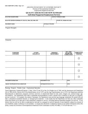 quality control document template