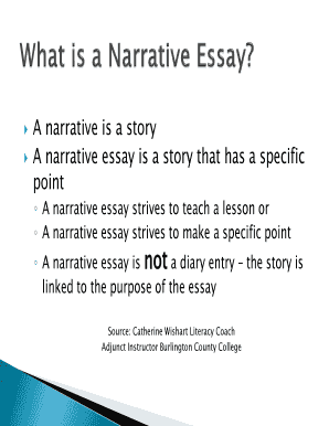 editable narrative interview essay example fill print  a narrative is a story