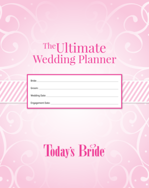 TheUltimate Wedding Planner - blog