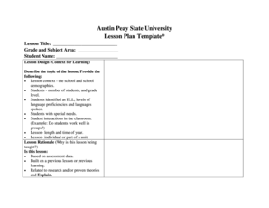 Lesson Plan Template Doc Forms Fillable Printable Samples For - Lesson plan template doc