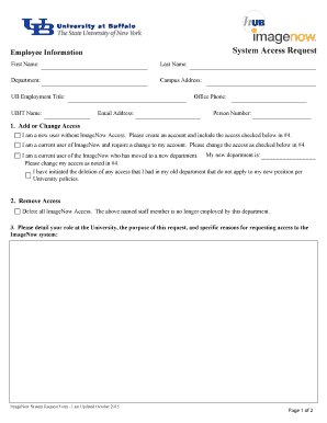 Printable system change request form template - Fill Out & Download ...