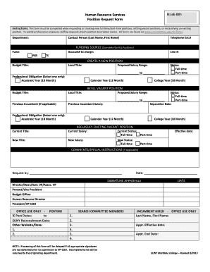 Fillable job application letter any vacant position edit print job application letter any vacant position human resource services ie job id position request form thecheapjerseys Choice Image