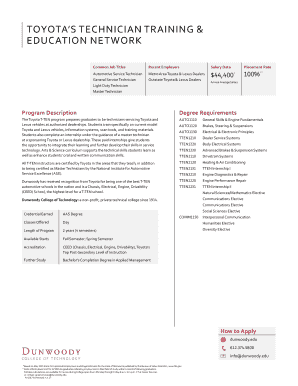 Printable toyota financial services credit application pdf