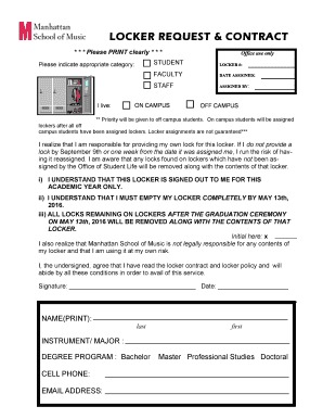 Printable locker closing letter format edit fill out download locker request contract thecheapjerseys Image collections