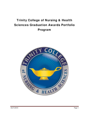 Trinity College of Nursing Health Sciences Graduation - trinitycollegeqc