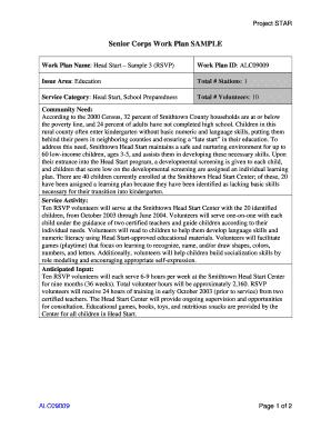 Fillable Sample Letter Volunteer Participation Edit Online Print