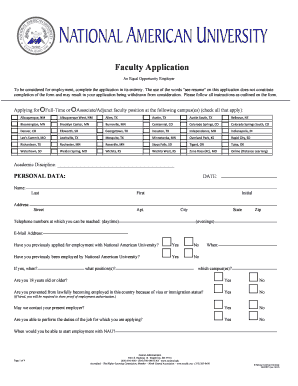 Editable employment application word - Fill Out Best Business ...