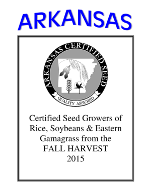 Certified Seed Growers of Rice Soybeans Eastern - plantboard arkansas