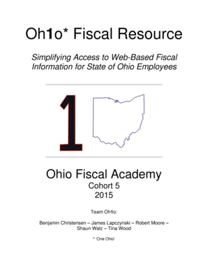 Oh1o Fiscal Resource - Ohio