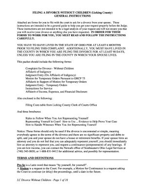 How to fill out divorce papers yourself fillable printable attached are forms for you to file with the court to ask for a divorce from solutioingenieria Image collections